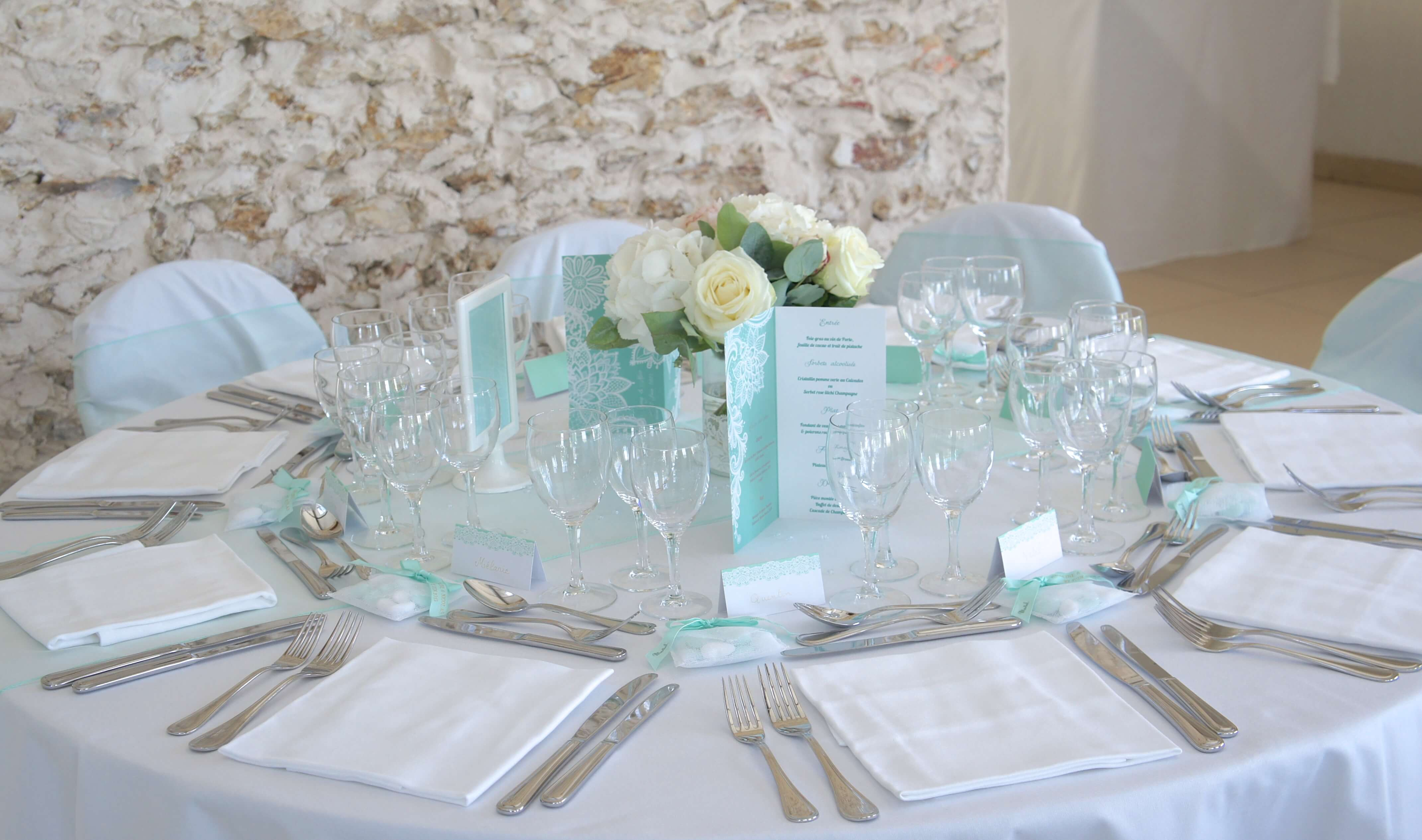 decoration de table de mariage par linda champenois, wedding designer