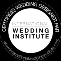 logo de l'international wedding institute, certification de wedding designer